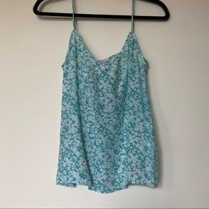 Equipment Floral Tank Top